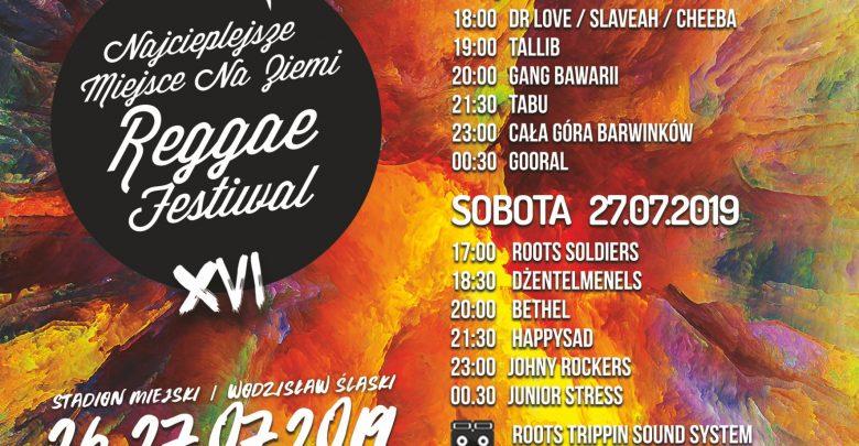 Najcieplejsze miejsce na Ziemi, czyli Reggae Festiwal w Wodzisławiu Śląskim 26 i 27 lipca (fot.WCK)