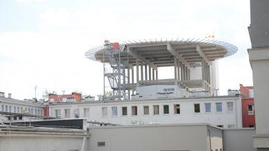 Zabrze: Otwarcie oddziału ratunkowego z lądowiskiem dla helikopterów w szpitalu miejskim (fot.mat.prasowe)