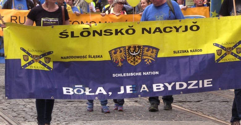 Katowice: Marsz Autonomii Śląska [WIDEO] (fot.mat.TVS)