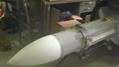 Pseudokibice mieli w swoim magazynie rakietę ziemia-powietrze! (fot.poliziadistato.it)
