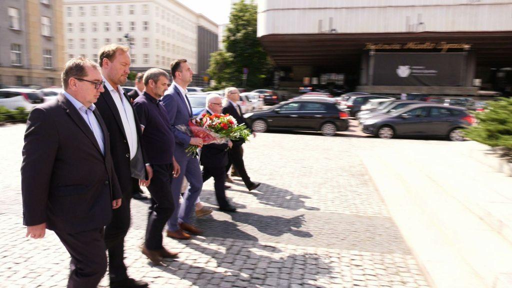 Dziś PSL podpisało porozumienie o współpracy partią Ślonzoki Razem i Jurajsko-Śląskim Stowarzyszeniem Dom Europejski