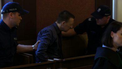 Były policjant z Sosnowca skazany na 25 lat za zabicie żony. Mdlał, kiedy czytali mu wyrok