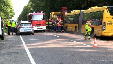 Groźny wypadek w Gliwicach! Autobus komunikacji miejskiej zderzył się z busem