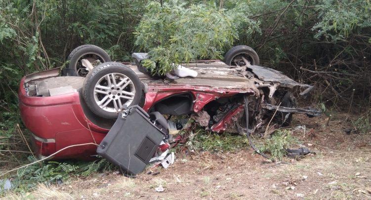 Rodzina z Piekar Śląskich miała poważny wypadek na Węgrzech. W wypadku zginął ojciec i 2-miesięczne dziecko (fot.police.hu)