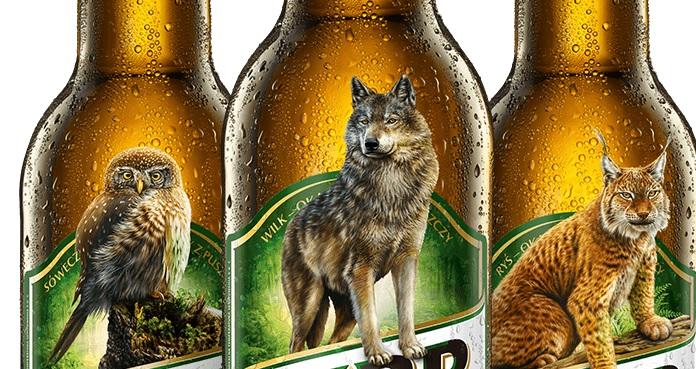 Dla wielu miłośników piwa to spore zaskoczenie. Z etykiet butelek i puszek znika dobrze znany żubr. W grę wchodzi milion złotych! (fot.Kompania Piwowarska)