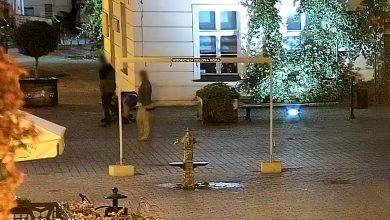 Okradli śpiącego mężczyznę. Zostali zatrzymani po trzech minutach [WIDEO] (fot. Policja Lubuska)