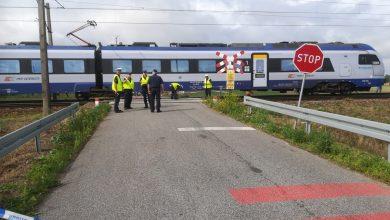 Tragedia na przejeździe kolejowym. Nie żyje matka z dwójką dzieci (fot.Policja Kujawsko-Pomorska)