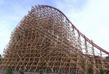 Największy drewniany rollercoaster na świecie ZADRA już czynny! Zobaczcie WIDEO Z PRZEJAZDU!