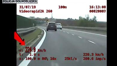 Jechał Audi 224 km/h! Policjanci z grupy SPEED ledwo dali radę go dogonić!