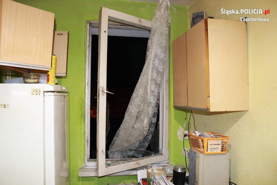 Eksplozja w Częstochowie! Są zarzuty dla pirotechnika [ZDJĘCIA] (fot. KMP Częstochowa)