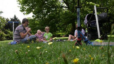 Śniadanie na trawie w Rozarium Parku Śląskim [WIDEO] (fot.mat.TVS)
