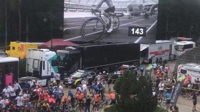 Wzruszające sceny na trasie IV etapu TdP! Kolarze uczcili pamięć Bjorga Lambrechta [ZDJĘCIA]. Fot. FB/Tour de Pologne