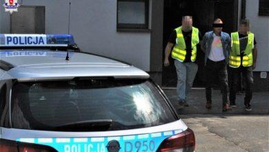 Uciekał przed radiowozem i potrącił policjanta. Nie miał prawa jazdy i był pijany (fot.Policja Lubelska)