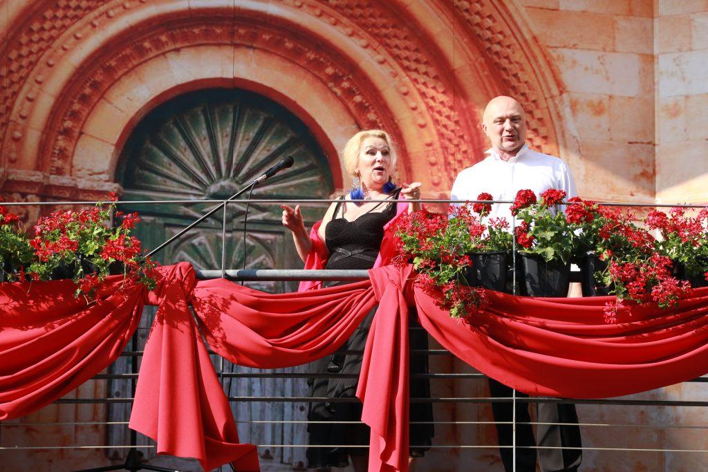 Gabriela Silva i Adam Woźniak (fot. RIK Katowice)