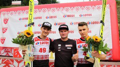 W pięknym stylu zwycięstwo odniósł Klemens Murańka, który w konkursie dwukrotnie uzyskał najlepsze rezultaty (fot.PZN)