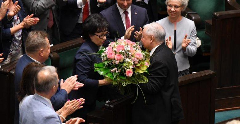 Zastąpiła Marka Kuchcińskiego. Elżbieta Witek nowym Marszałkiem Sejmu (fot.Sejm RP)