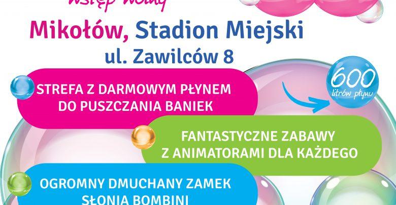 Bubble Day w Mikołowie. Miejski Ośrodek Sportu i Rekreacji zaprasza (fot.mat.prasowe)