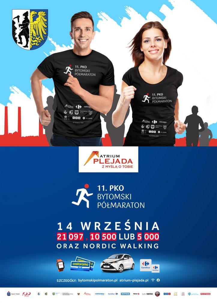 11. PKO Bytomski Półmaraton wystartuje 14 września 2019 r.