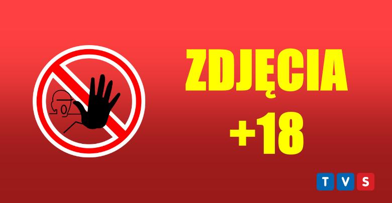 Szok! Goły transwestyta biega z dildo po Gliwicach! [ZDJĘCIA +18]