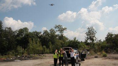 Strażnicy miejscy z Siemianowic mają nowego drona. Będą monitorować składowiska odpadów