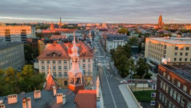 Panorama miasta Gliwice (fot. M. Baranowski / archiwum UM w Gliwicach)
