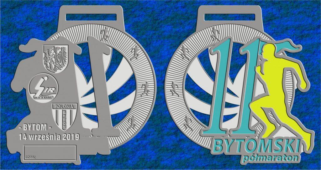 Medal 11. PKO Bytomskiego Półmaratonu