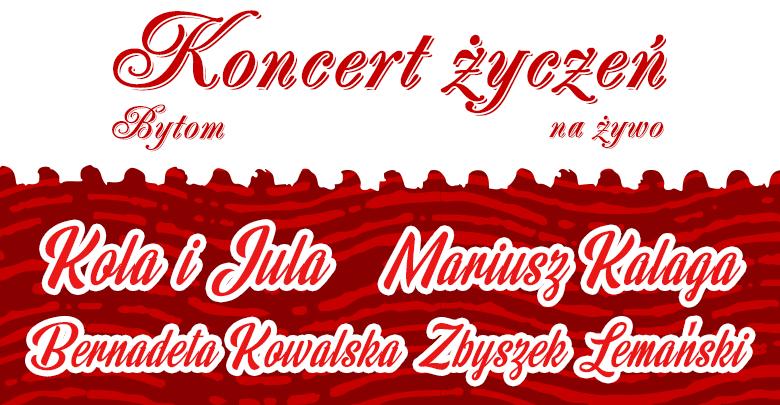 Bytom: Koncert Życzeń (fot. TVS)