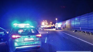 Śmiertelny wypadek na A4 tuż przed punktem poboru opłat. Nie żyją dwie osoby (fot. Policja Wrocławska)