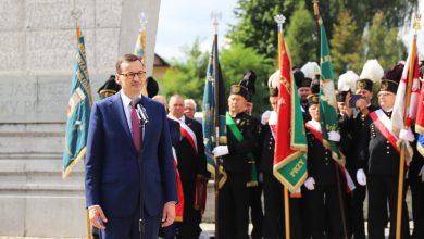 Premier Mateusz Morawiecki wziął udział w uroczystościach z okazji 39. rocznicy podpisania Porozumień Jastrzębskich (fot.ŚUW w Katowicach)