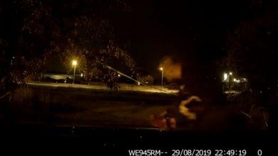 Sosnowiec: Oscarowa rola złodzieja. Nagrała go kamera z auta, które okradł (fot.policja)