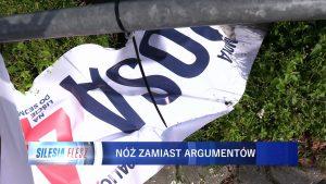 Zamiast ostrej dyskusji w kampanii wyborczej, jest walka na noże. Na Śląsku - dosłownie. W stosunku do kilku kandydatów Koalicji Obywatelskiej w ruch poszły ostre narzędzia