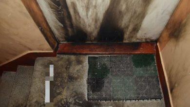 Podpalili kilka drzwi wejściowych do mieszkań. Taka zemsta (fot.Policja Zachodniopomorska)