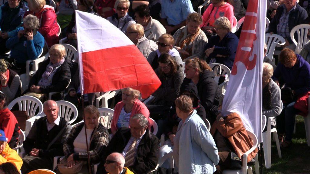 W trakcie 37. Pielgrzymki Ludzi Pracy do Częstochowy głos zabrali: Piotr Duda – przewodniczący NSZZ Solidarność i premier Mateusz Morawiecki