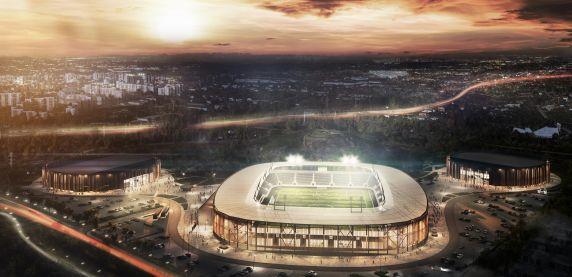Zagłębiowski Park Sportowy rośnie w siłę. Powstaje stadion, hala sportowa i lodowisko
