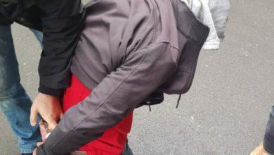 """""""Spiderman"""" w rękach policji. 37-latkowi grozi 8 lat więzienia (fot.policja.pl)"""