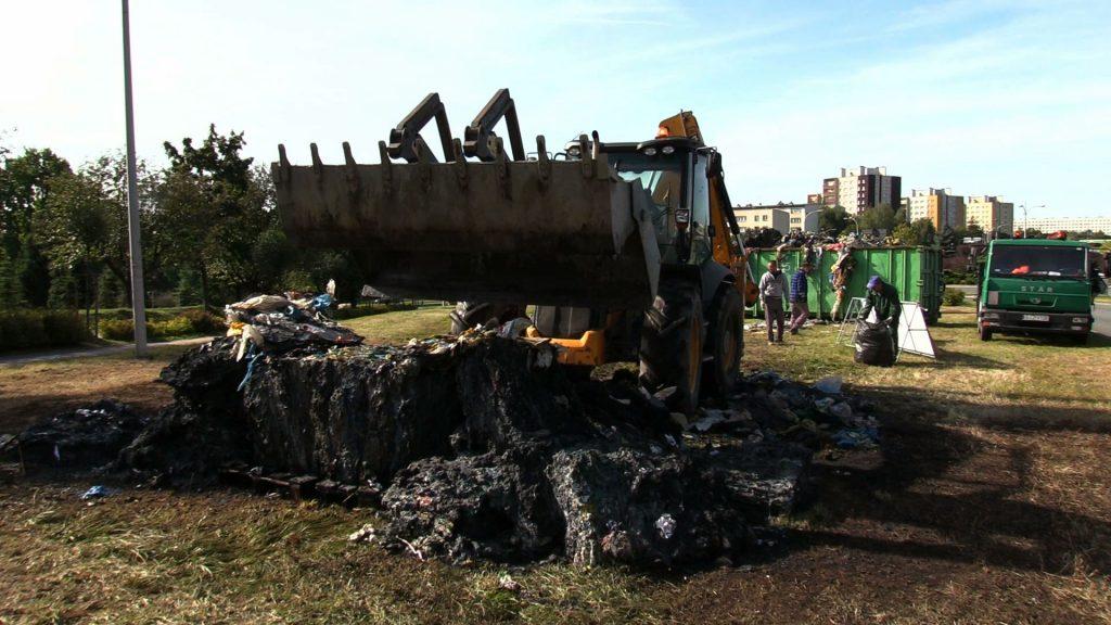 Ekologiczna instalacja w Jastrzębiu poszła z dymem. Ktoś ją podpalił!