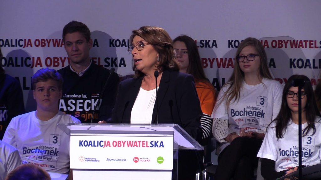 Koalicja Obywatelska w Sosnowcu przekonywała, że kolejna kadencja PiS będzie oznaczała dla Polaków kolejne lata kłamstw