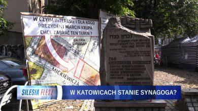 W centrum Katowic pojawiły się tablice informujące o tym, że miasto chce zlikwidować stragany na placu Synagogi. Ponad 100 lat temu stała tu synagoga, a właściciel chce ją wybudować na nowo