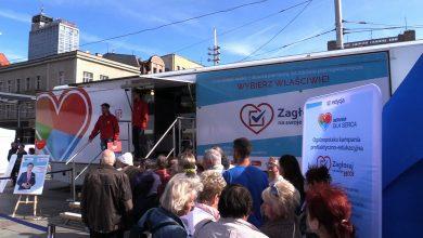 W Katowicach można było się zbadać. Na rynku obchodzono Światowy Dzień Serca