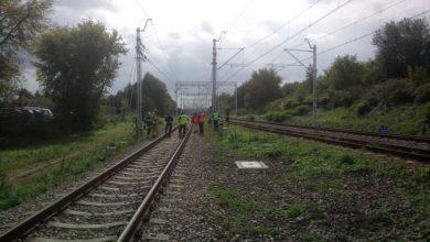 Tragiczny wypadek na torach. 36-latek rzucił się pod pociąg (fot.Policja Podkarpacka)