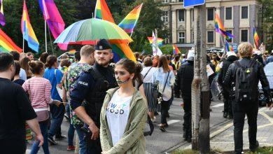 Marsz Równości w Katowicach. Zabezpieczało go 1500 policjantów [WIDEO]
