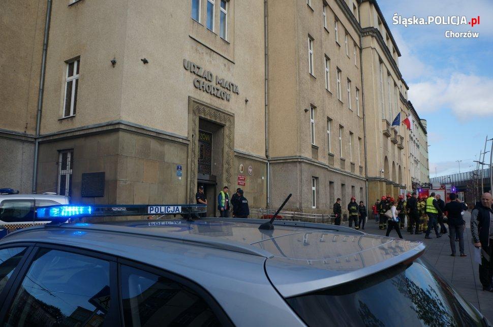 Chorzów: Pożar w urzędzie miasta! Policja ewakuowała pracowników i petentów