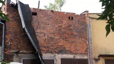 Gliwice: Tragiczny wypadek podczas pracy. Na robotników zawalił się dach (fot. KMP Gliwice)
