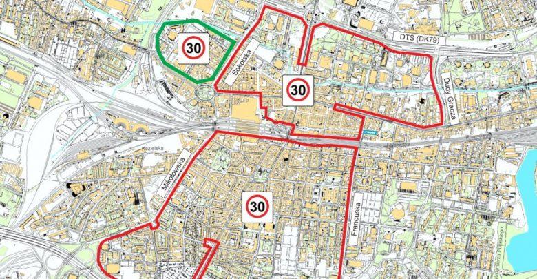 Uwaga kierowcy! Od dziś nowa strefa 30 km/h w Katowicach