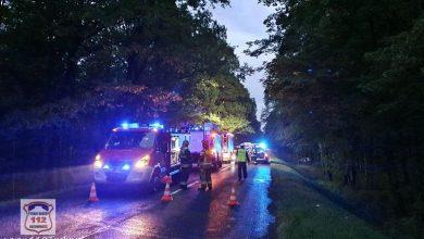 Śląskie: Czołówka w Kobiórze. Policjanci szukają świadków wypadku (fot.www.112tychy.pl)