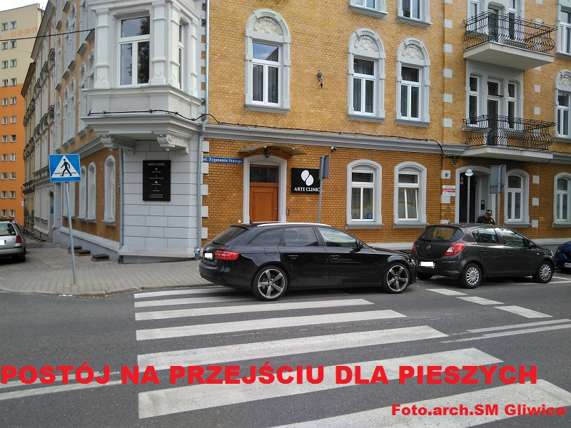 Mistrzowie parkowania z Gliwic w akcji [ZDJĘCIA] Zobacz TOP 10! (fot. SM Gliwice)