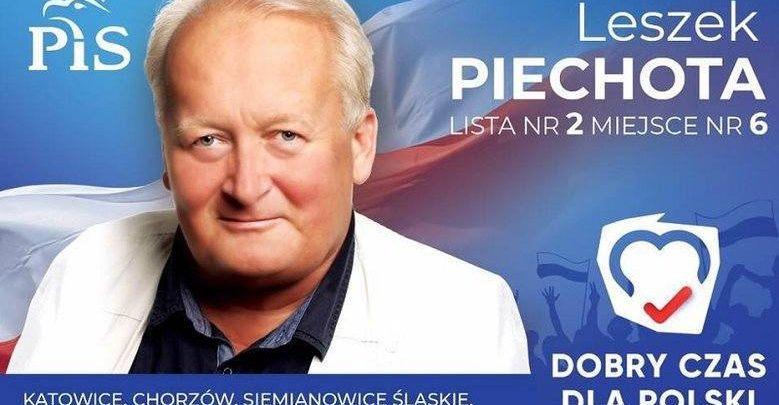 Leszek Piechota z PiS to prorok? Ma już banery z numerem listy! A losowanie dopiero 13 września...