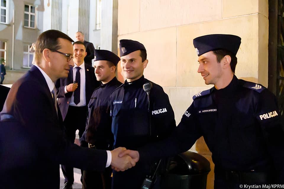 Premier Morawiecki spotkał swojego sobowtóra na Śląsku! [ZDJĘCIA]