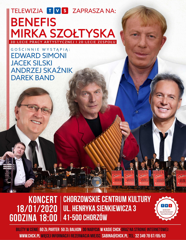 Mirek Szołtysek - benefis (fot. TVS)