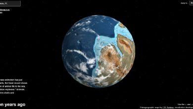Genialne! Dzięki tej mapie możesz sprawdzić jak wyglądało twoje miasto 750 mln lat temu